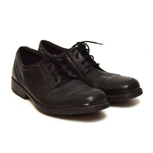 Bostonian Derby Dress Shoes Size 15 Black Leather